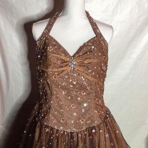 Dresses & Skirts - Prom Dress -Brown w/tint of purple
